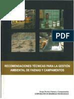 Recomendaciones Gestion Ambiental Campamentos