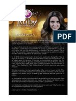 Biografia - Ruby Escobar
