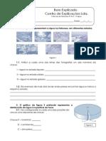 5. Teste diagnóstico  - Importância da água para os seres vivos (2)