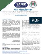 RNWA Newsletter Autumn 2013
