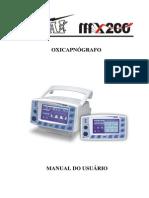 Manual do Usuário Oxicapnógrafo MX-200