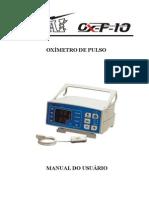 Manual do Usuário Oxímetro de Pulso OX-P-10