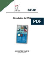Manual do Usuário Simulador de ECG SX-20