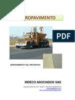 Micropavimento Brochure Indeco SAS Serv7 000000000000