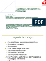 Procesos y Sistema Prospectivos Nuevas Tendencias