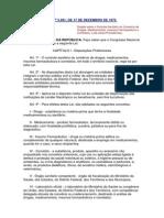 lei n 5991- disposições preliminares