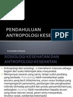 Antropologi Keseshatan