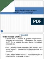 1 Tecnologia das Fermentações - Introdução  a Enzimologia -2013.2
