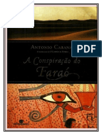 A Conspiração do Faraó - Antonio Cabanas