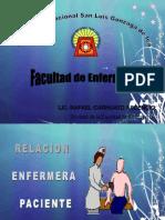 Relacion Enfermera - Paciente (Grupo 1)