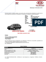 Modelo de Auto Rio Std Aire