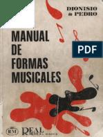 Manual de Formas Musicales - Dionisio de Pedro
