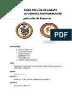 Modelos de Negocios Por Internet, Cyberterapia y Faxes Por Internet