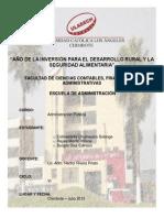 ADMINISTRACIÓN PÚBLICA - ENSAYO DE SISTEMA DE ABASTECIMIENTO