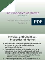 1-1 the Properties of Matter