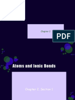 2-1 Atoms and Ionic Bonds