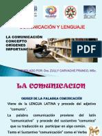 UNIDAD I. Comunicacion. Concepto, Origen, importancia..pptx
