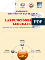 FUNCIONES DEL LENGUAJE. unidad 2.ppt