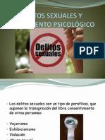 DELITOS SEXUALES Y TRATAMIENTO PSICOLÓGICO