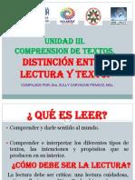 NIVELES DE LECTURA. Unidad 3..pptx