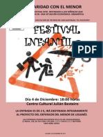 Festival Infantil 4diciembre 2013