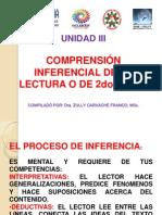 UNIDAD III.COMPRENSION INFERENCIAL DE LA LECTURA..pptx