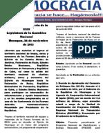 Barómetro Legislativo Diario del martes, 26 de noviembre de 2013.pdf