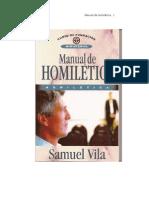 Manual de Homiletica Samuel Vila