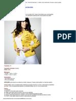 Blazer de Tricoline - Portal de Artesanato - O Melhor Site de Artesanato Com Passo a Passo Gratuito
