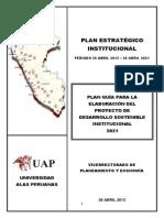 Plan Estrategico 2013-2021