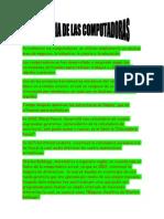 Historia de Las Computadoras Agustin Fiasche