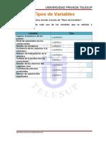 Tipos de Variables 11111