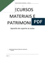 Apostila completa - Administração de Recursos Materiais e patrimoniais.docx