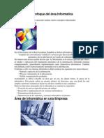 Tendencias y enfoque del área Informatica.docx
