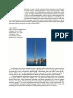 10 Bangunan Tertinggi Di Dunia