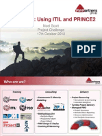 Case Study Using ITIL and PRINCE2 Powerpoint Noel Scott