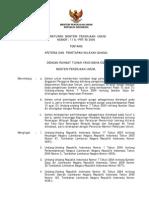 Peraturan Menteri Pekerjaan Umum Nomor 11 A/PRT/M/2006 tentang Kriteria dan Penetapan Wilayah Sungai