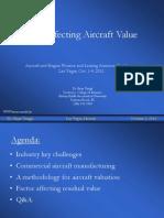 Dr. Bijan Vasigh Aircraft Finace Conference Las Vegas 10 2012