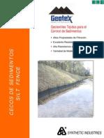 Catalogo Gtx Tejido Cerco Sedimentos