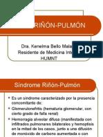 Síndrome RIÑÓN-PULMÓN kene