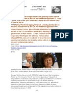 """13-11-27 Stanley Fischer's legacy in Israel - placing banks above the law, subservient to the US surveillance apparatus // סטנלי פישר ותרומתו למדינת ישראל - בנקים מעל לחוק, פועלים עבור שירותי הריגול של ארה""""ב"""