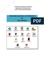 DOC-RECTOR Del PNFen Electricidad -Version 2013
