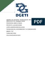 CENTRO DE ESTUDIOS TECNOLOGICOS INDUSTRIAL Y DE SERVICIOS Nº 54