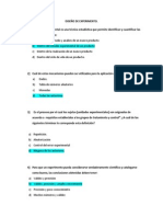 PREGUNTAS DE DISEÑO DE EXPERIMENTOS