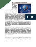 Las tecnologías de la información y la comunicación