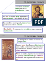 Fundamental Vii Fe, Encuentro Con Dios