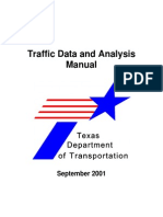 Traffic Data and Analysis Manual