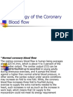Physiology of the Coronary Blood Flow