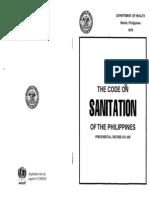 Sanitation Code Philippines