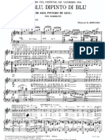 D. Modugno - PNO+GTR+VOZ - Nel Blu, Dipinto Di Blu